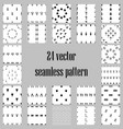 24 seamless pattern backgrounds repair concept vector image