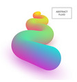 abstract 3d liquid color shapes modern gradient