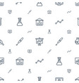 analysis icons pattern seamless white background vector image vector image