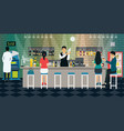 bartender vector image