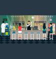 bartender vector image vector image