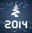 Blue New Year Background 2014