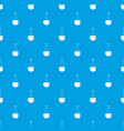 chemical beaker pattern seamless blue vector image vector image