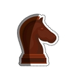 chess game concept vector image vector image