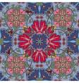 colorful glaze seamless pattern mandalas vector image