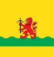 flag of kronoberg county is a county in southern vector image vector image