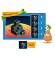 game many blocks vector image