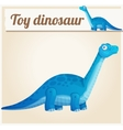 Toy dinosaur 2 Cartoon vector image