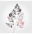 Tree leaf vector image