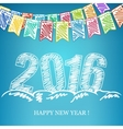 2016 New Year Eve Background vector image
