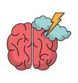 brain idea brianstorm innovation vector image vector image