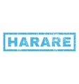 Harare Rubber Stamp vector image vector image