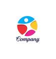 health logo vector image vector image