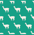 llama seamless pattern vector image vector image