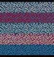 seamless blue motley knitting vector image vector image