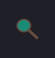 Search computer symbol vector image