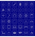 set of flat icons for e-commerce web site vector image vector image