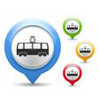 Tram Icon vector image
