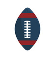 american football tool to play the sport vector image vector image