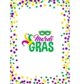 Bright abstract dot mardi gras pattern