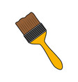 brush tool construction vector image vector image