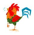 chicken vector image vector image