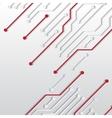 Circuit board texture vector image