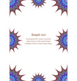 Colour page corner and border design vector image vector image