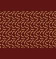 leaf seamless pattern simple batik motif vector image vector image