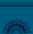 mandala art design vector image vector image