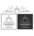 modern monochrome labels set with inscriptions vector image