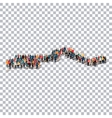 people map country Gambia vector image vector image