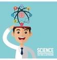 Science design Colorfull Cartoon vector image