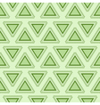 Tribal green seamless pattern vector image vector image