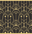 abstract art deco seamless pattern 05 vector image vector image