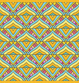 colored stripped pattern vector image vector image