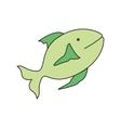 fish animal design vector image