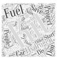 Hydrogen Fuel Boost Kit Fuel Saver Word Cloud