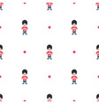 queen guard cute seamless pattern vector image vector image