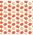 autumn maple leaves white background image vector image vector image
