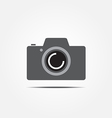 camera icon1 vector image vector image