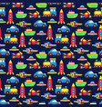 colorful toy transport seamless pattern vector image vector image