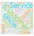 Customer Service Customer Loyalty Wins Sales text vector image vector image