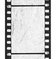 grunge film strip vector image vector image