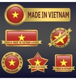 made in Vietnam vector image