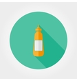 Mustard flat icon vector image