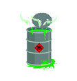 radioactive waste barrel toxic refuse keg