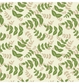 seamless pattern with leaf abstract leaf texture vector image vector image