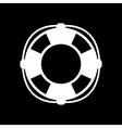 The lifebuoy icon Lifebelt symbol Flat vector image