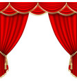 theater stage mesh vector image vector image